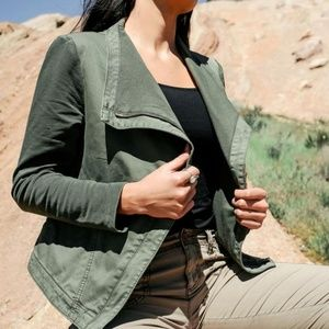 Anthropologie Marrakech Faravel Moto Jacket